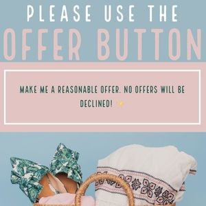 Other - USE THE OFFER BUTTON ❤️